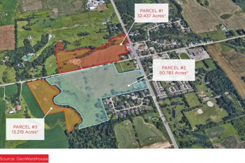 Arva Lands - Aerial - 01a (Labeled - Acreage)