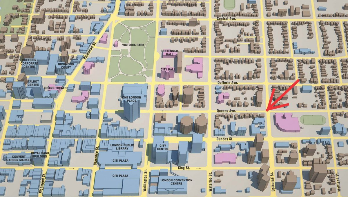Downtown London Map - 02