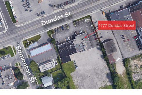 Dundas St. 1777 - Aerial
