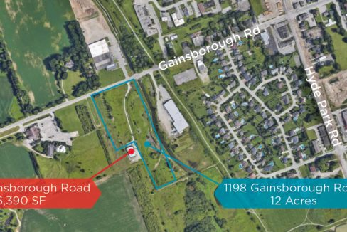 Gainsborough Rd. 1198 - Aerial (labeled)