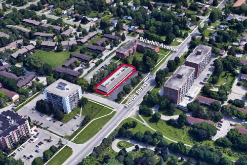 Huron St. 994 - Aerial 1- outlined
