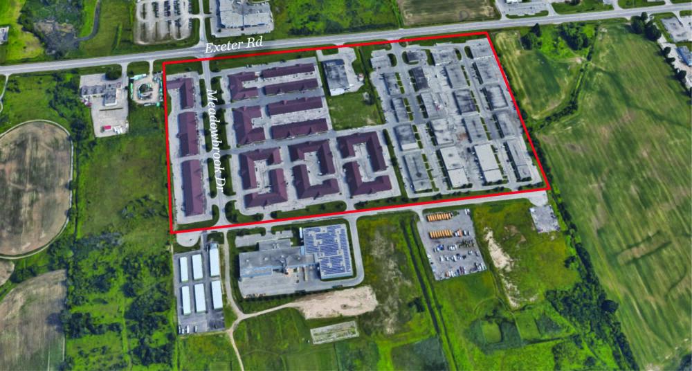Meadowbrook - Aerial - outlined V2
