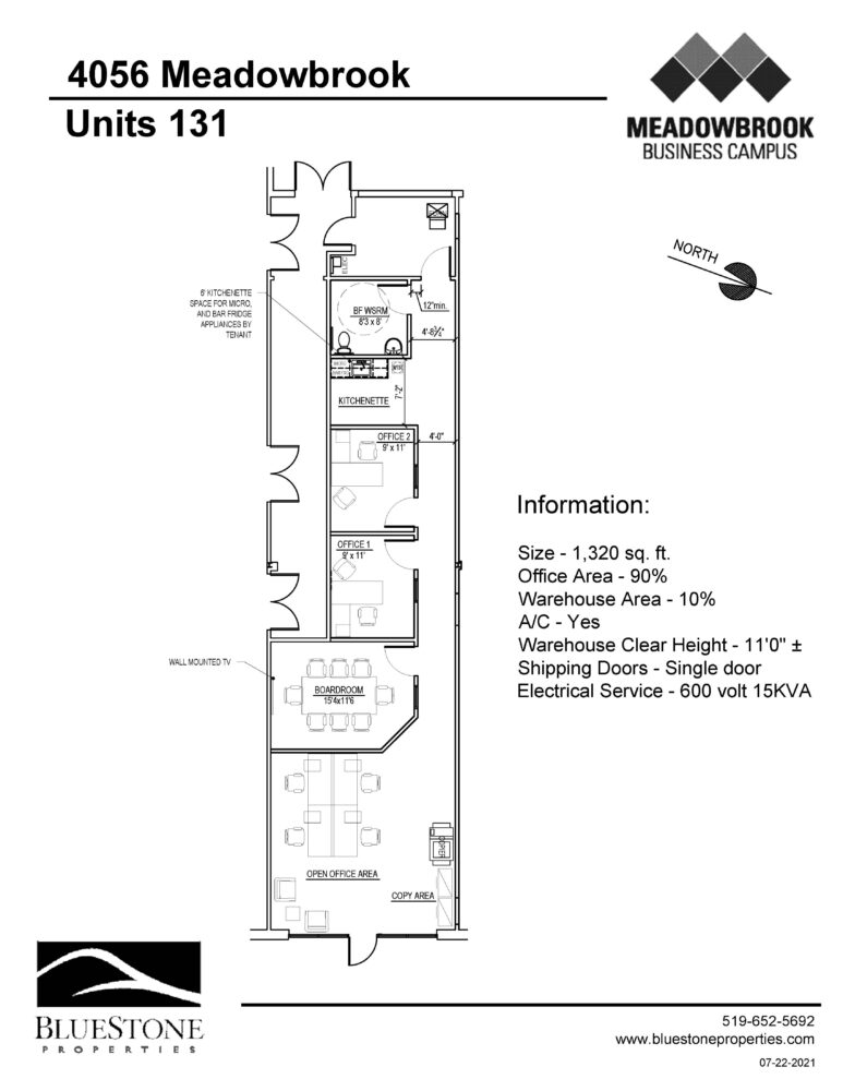 4026 Meadowbrook Dr, Unit 131 - Floor Plan