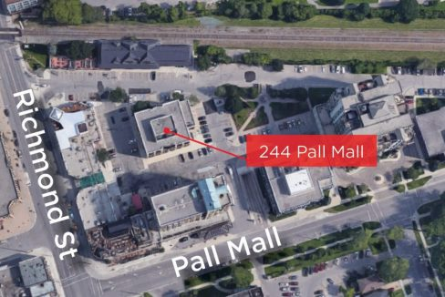 Pall Mall St. 244 - Aerial - 01 (Labeled)