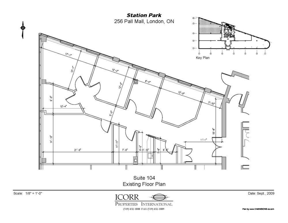 Suite 104 - Floor Plan