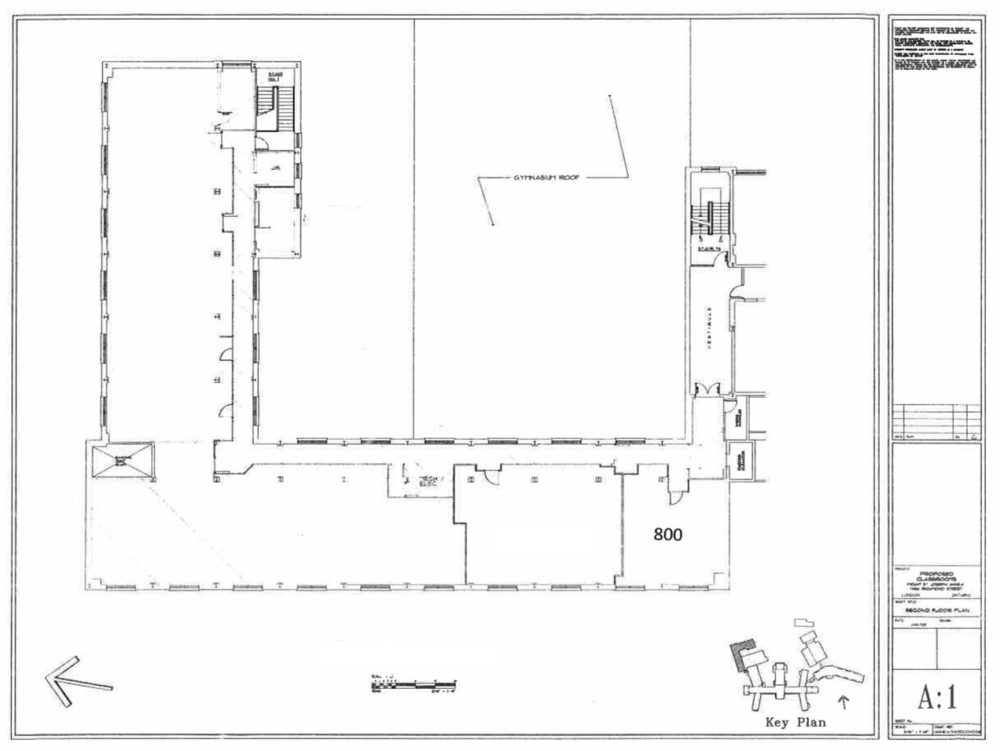 Floor Plan –Second Floor