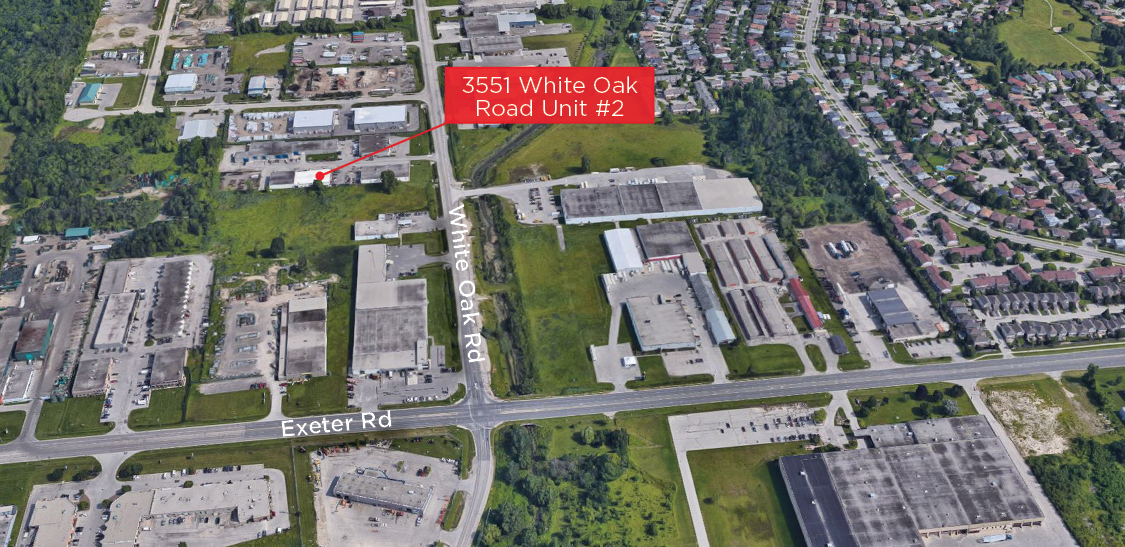 White Oak Rd. 3551, Unit 2 - Aerial (labeled)