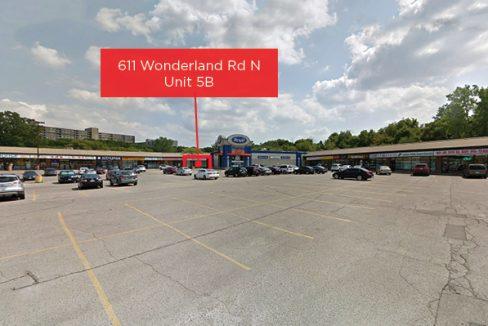 Wonderland Rd. 611, Unit 5B - 1a