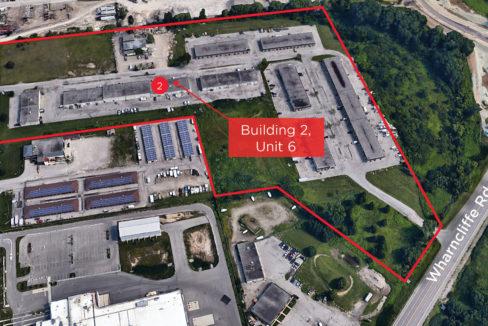 Wonderland Rd. S. 3392, Building 2, Unit 6 - Aerial (labeled)