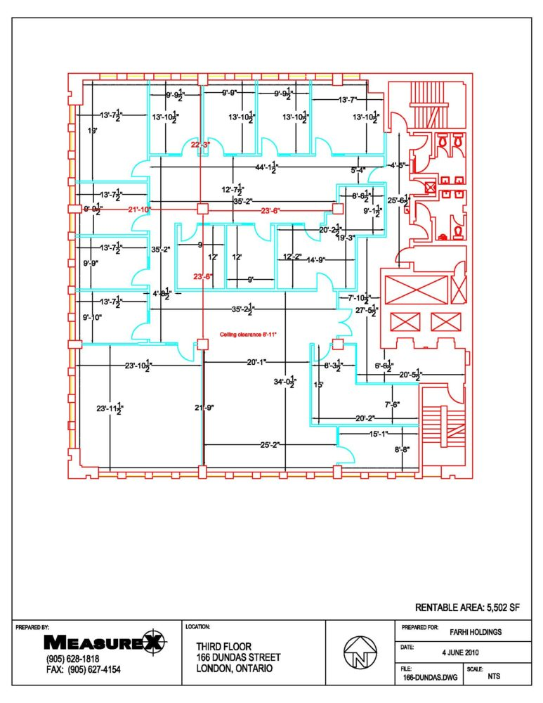 Floor Plan - Third Floor