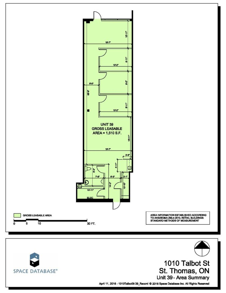 Floor Plan - Unit 39