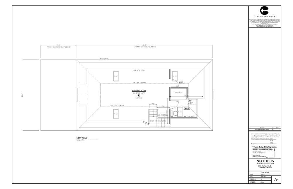 317 Horton Street East - Floor Plan (Loft)
