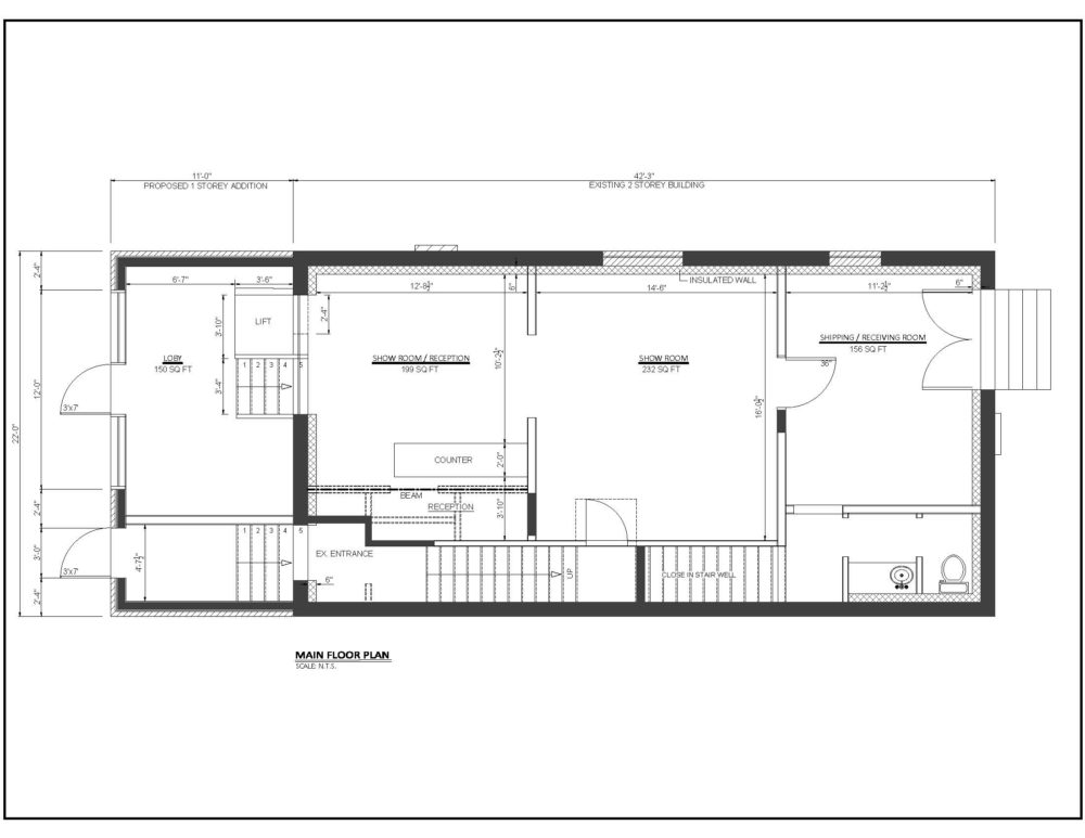 317 Horton Street East - Floor Plan (Main Floor)