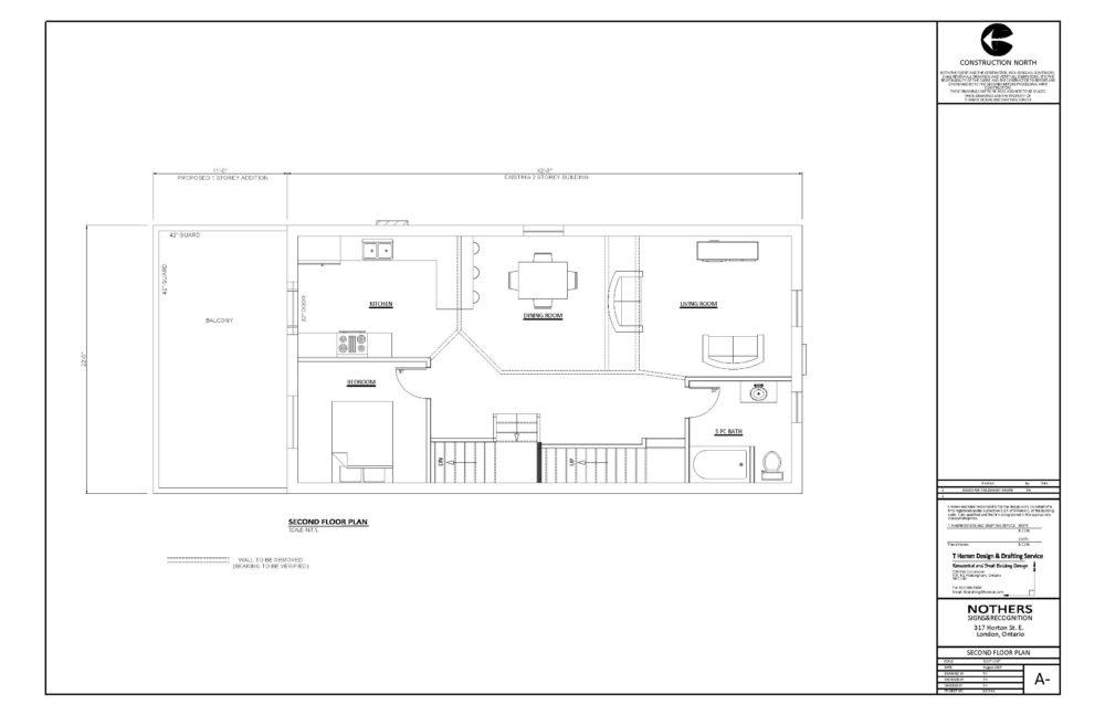317 Horton Street East - Floor Plan (Second Floor)