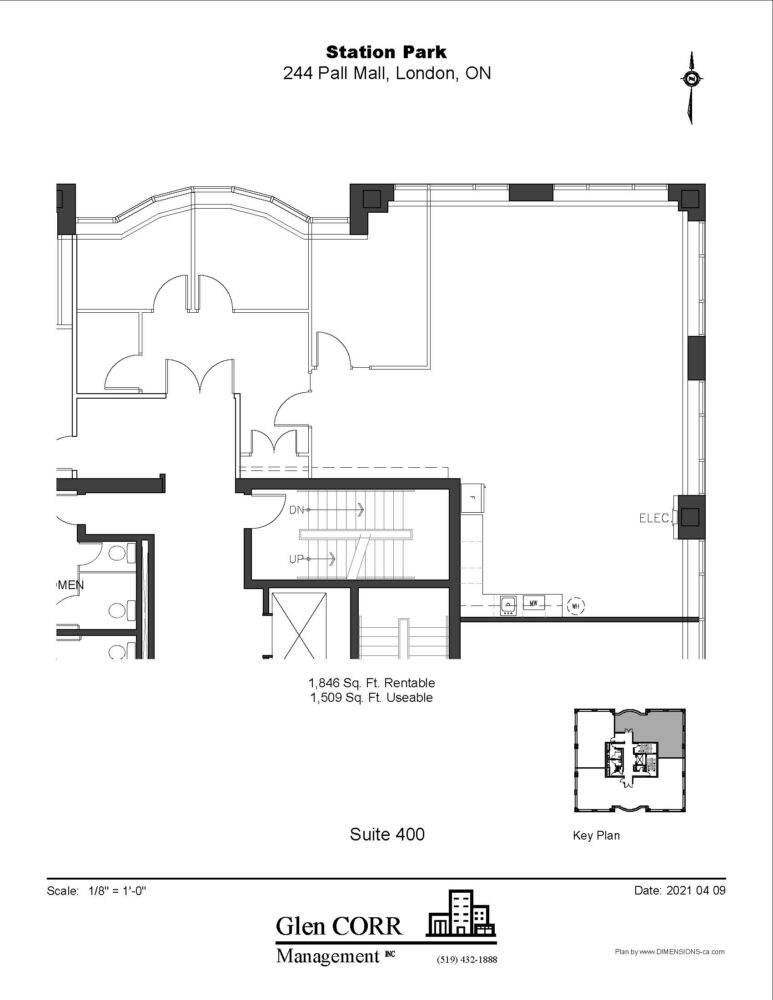 Floor Plan - Unit 400