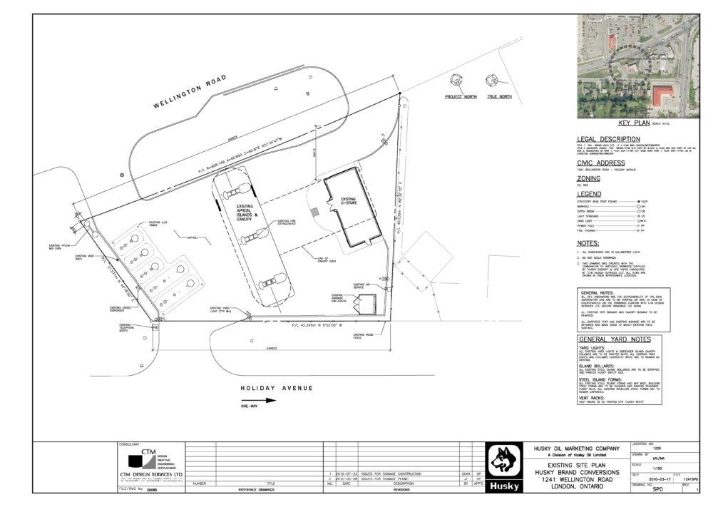 Former Site Plan