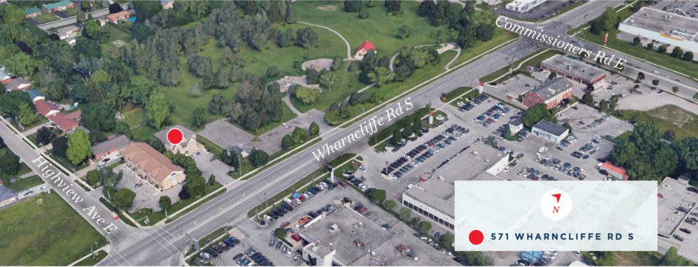 Wharncliffe Rd. S. 571 - Aerial - 01 (labeled)