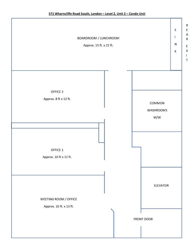 Level 2, Unit 2 - Floor Plan