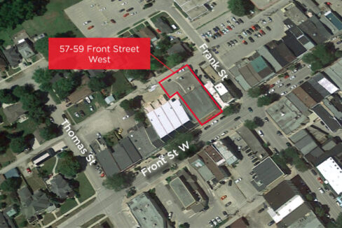 Front St. W. 57-59 - Aerial - 02 (outlined)