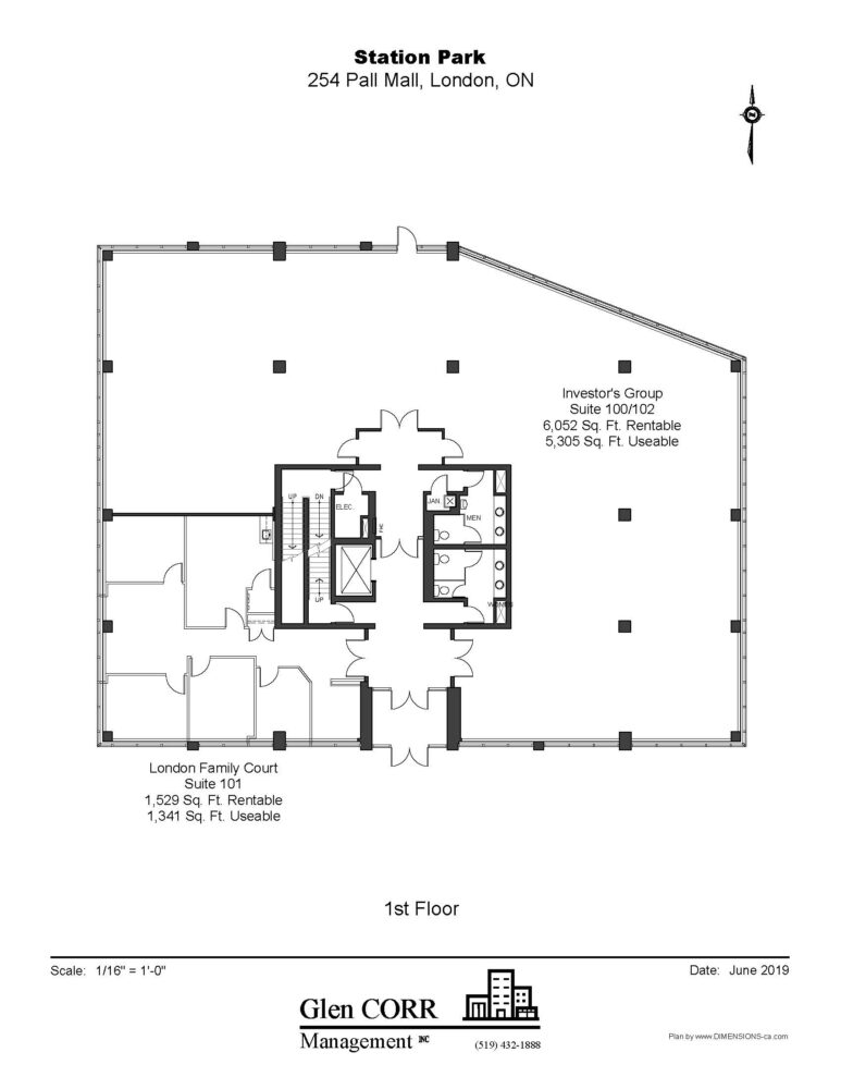 Floor Plan - Unit 101