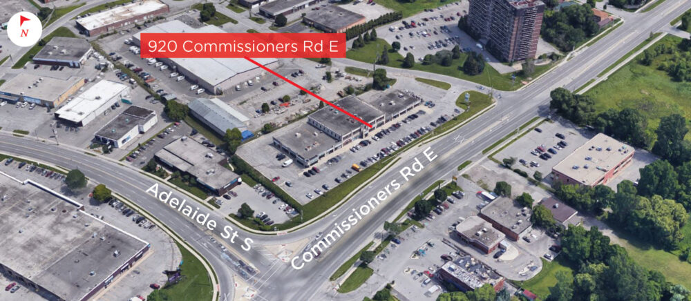 Commissioners Rd. E. 920 - Aerial - 02