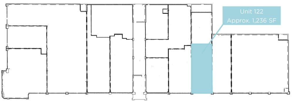 Floor Plan - Unit 122