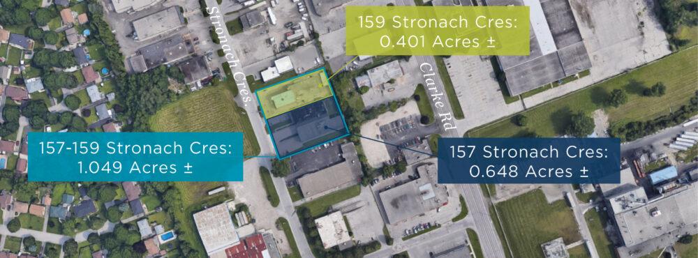 Stronach Cres. 157-159 - Aerial 01