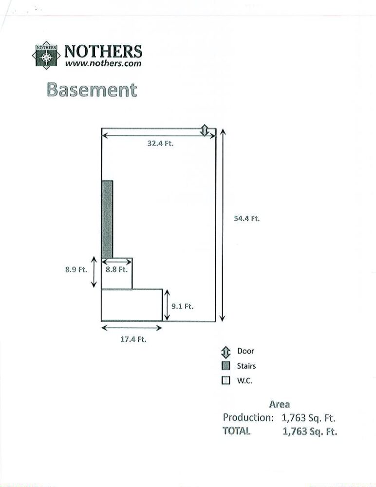 Floor Plan - Lower Level
