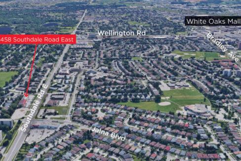 Southdale Rd. E. 458, Unit 3 - Aerial - 02b