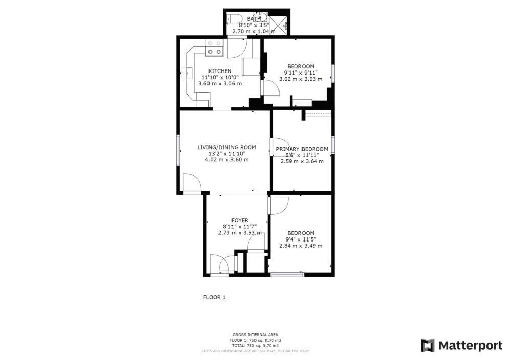 Floor Plan - Unit 1