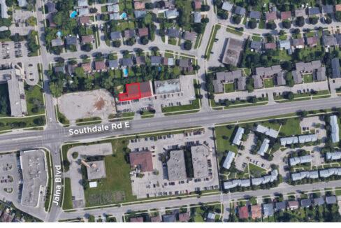 Southdale Rd. E. 456 - Aerial - 01