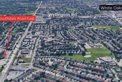 Southdale Rd. E. 456 - Aerial - 02