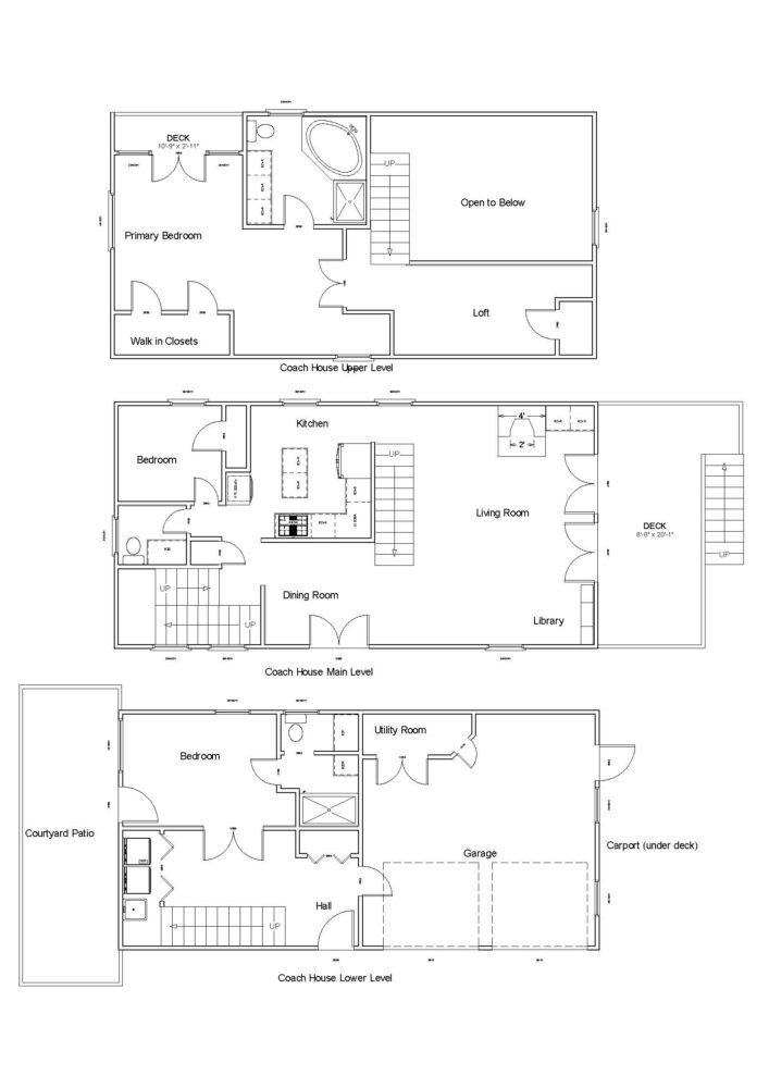 Floor Plan - Coach House