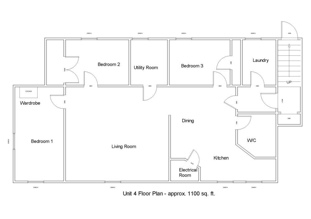 Floor Plan - Unit 4