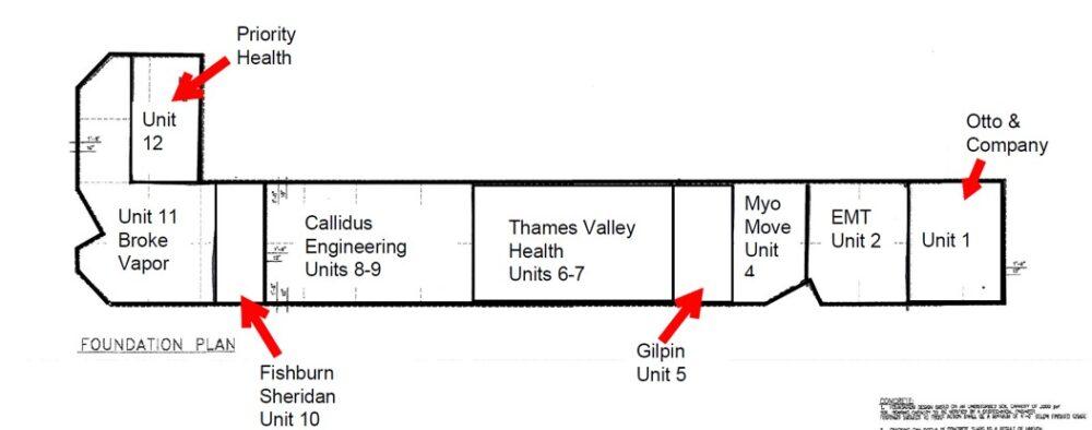 1385 North Routledge Park - Floor Plan