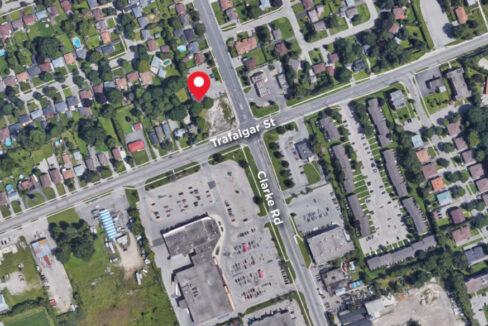 Clarke Rd. 161, Unit 2 - Aerial - 02 (labeled)