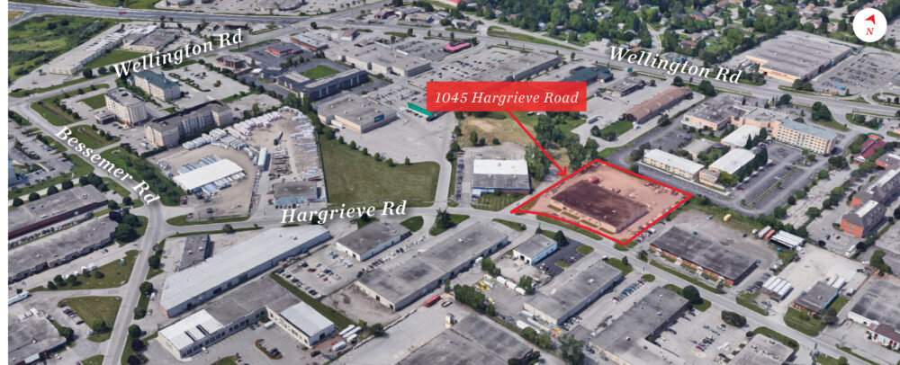 Hargrieve Rd. 1045 - Aerial - 03 (labeled)