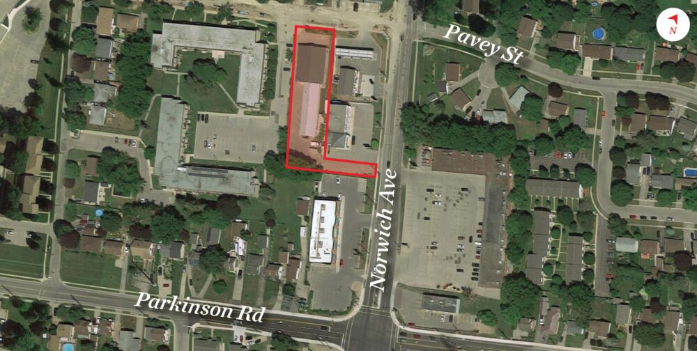 Pavey St. 754 - Aerial - 01 (labeled)