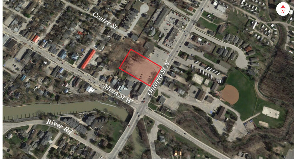 Ontario St. N. 1 - Aerial - 01 (labeled)