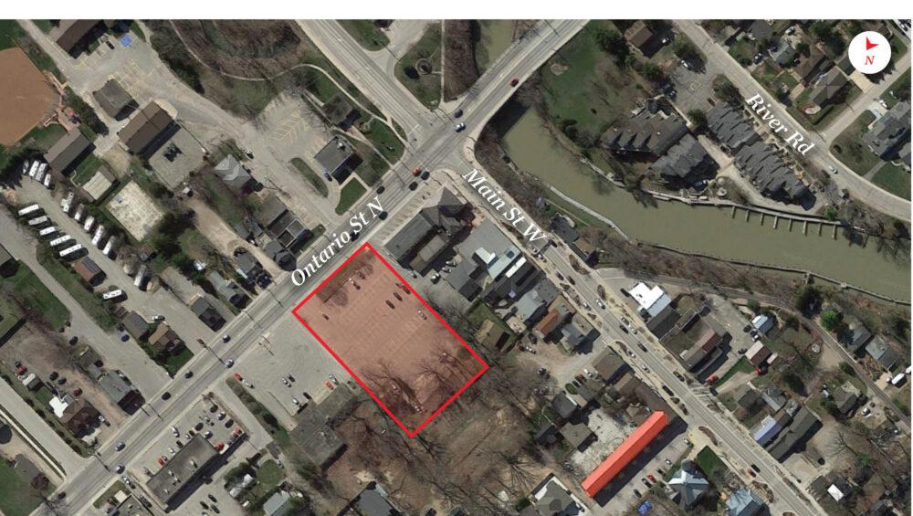 Ontario St. N. 1 - Aerial - 02 (labeled)