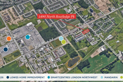 North Routledge Pk. 1490 - Aerial - 02 (labeled)