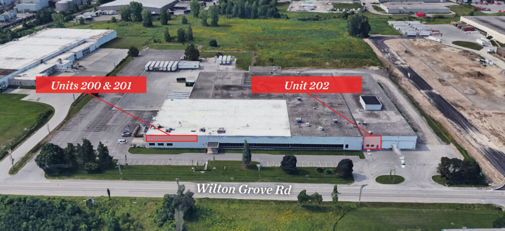 Wilton Grove Rd. 1005, Units 200, 201 & 202 - 01a (labeled)